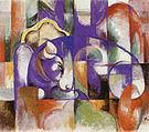 Franz Marc Lying Bull 1913