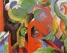 Franz Marc Small Composition III 1913