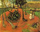 Paul Gauguin Tahitian Idyll 1901