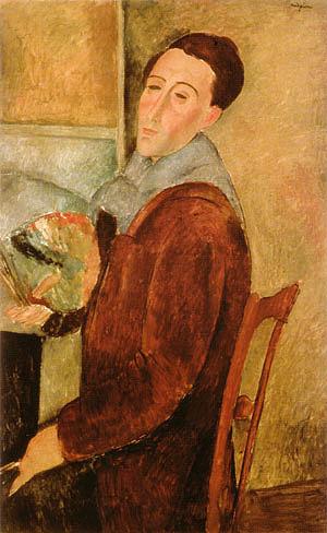 Amedeo Modigliani Self-Portrait 1919