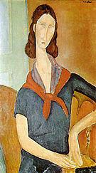 Amedeo Modigliani Jeanne Hebuterne 1919