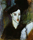 Amedeo Modigliani The Jewess 1908