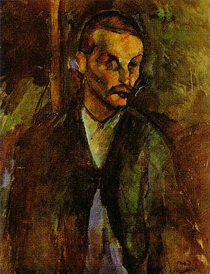 Amedeo Modigliani The Beggar of Livorno 1909