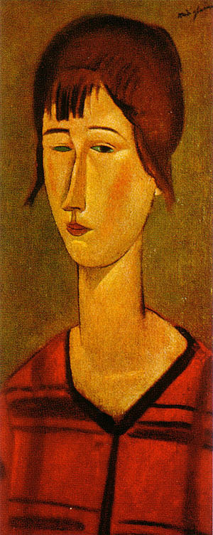 Amedeo Modigliani Marcelle 1917