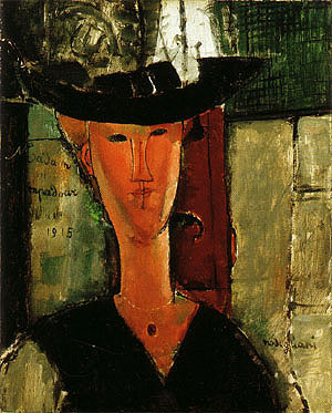 Amedeo Modigliani Portrait of Madam Pompadour 1915