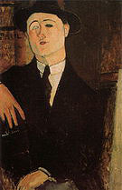 Amedeo Modigliani Portrait of Paul Guillaume 1916