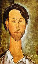Amedeo Modigliani Portrait of Leopold Zborovki 1918