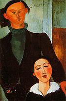 Amedeo Modigliani Jacques and Berthe lipchitz 1916