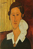 Amedeo Modigliani Portrait of Anna Zborovska 1917
