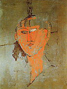 Amedeo Modigliani Head 1915