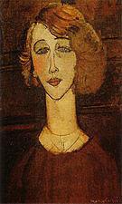 Amedeo Modigliani Renee the Blonde 1916