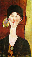Amedeo Modigliani Beatrice Hastings 1915