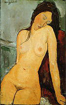 Amedeo Modigliani Female Nude 1916
