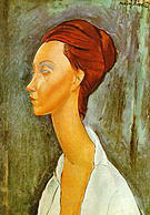 Amedeo Modigliani Portrait of Lunia Czechovska 1919