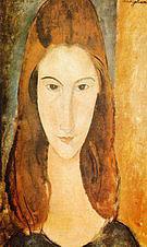 Amedeo Modigliani Portrait of Jeanne Hebuterne 1919