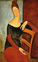 Amedeo Modigliani Jeanne Hebuterne The Artist's Wife 1918