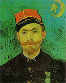 Amedeo Modigliani Portrait of Milliet Second Lieutenant with the Zouaves 1888
