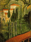 Amedeo Modigliani Landscape 1919