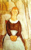 Amedeo Modigliani The Beautiful Grocer 1918