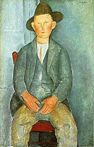 Amedeo Modigliani The Little Peasant 1918