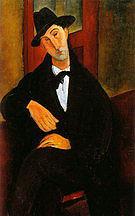 Amedeo Modigliani Portrait of Mario Varvogli 1919-20
