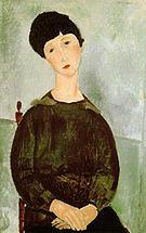 Amedeo Modigliani Young Girl 1918