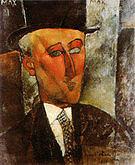 Amedeo Modigliani Portrait of Max Jacob 1916