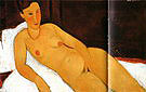 Amedeo Modigliani Nude with Necklace 1917