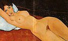 Amedeo Modigliani Reclining Nude 1917