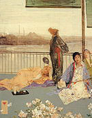 James McNeill Whistler Variations in Flesh Colour and Green The Balcony 1865