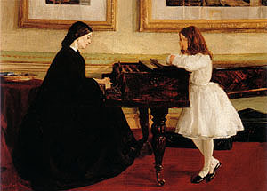 James McNeill Whistler At the Piano c1858