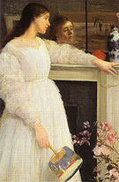 James McNeill Whistler Symphony in White No 2 The Little White Girl 1864