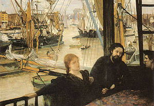 James McNeill Whistler Wapping On Thames 1860-1861
