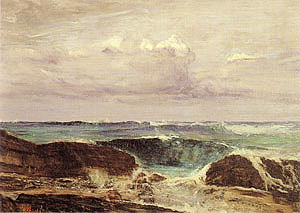 James McNeill Whistler The Blue Wave Biarritz 1862