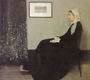 James McNeill Whistler Arrangement in Grey and Black Portrait of the Painter's Mother 1871