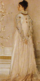 James McNeill Whistler Symphony in Flesh Colour and Pink Portrait of Mrs Frances Leyland 1871-1874