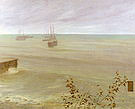 James McNeill Whistler Symphony in Grey and Green The Ocean 1866-72