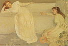 James McNeill Whistler Symphony in White No 3 c1865