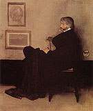 James McNeill Whistler Arrangement in Grey and Black No 2  Portrait of Thomas Carlyle 1872-1873