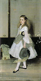 James McNeill Whistler Harmony in Grey and Green Miss Cicely Alexander 1872-1873