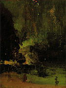 James McNeill Whistler Nocturne in Black and Gold The Falling Rocket 1875