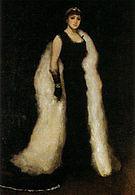 James McNeill Whistler Arrangement in Black Lady Meux c1881