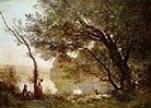 Jean Baptiste Corot Souvenir of Mortefontaine 1864