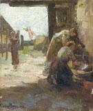 Piet Mondrian Women Doing the Wash c1894