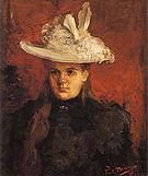 Piet Mondrian Young Princess 1896
