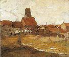 Piet Mondrian Wingless 'Paltrok' Mill in the Schinkelbuurt 1898