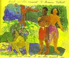 Paul Gauguin Messengers of Oro 1893