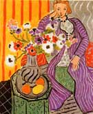 Matisse Purple Robe and Anemones 1937