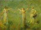 Thomas Wilmer Dewing The Garland 1899
