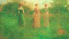 Thomas Wilmer Dewing In the Garden c1892